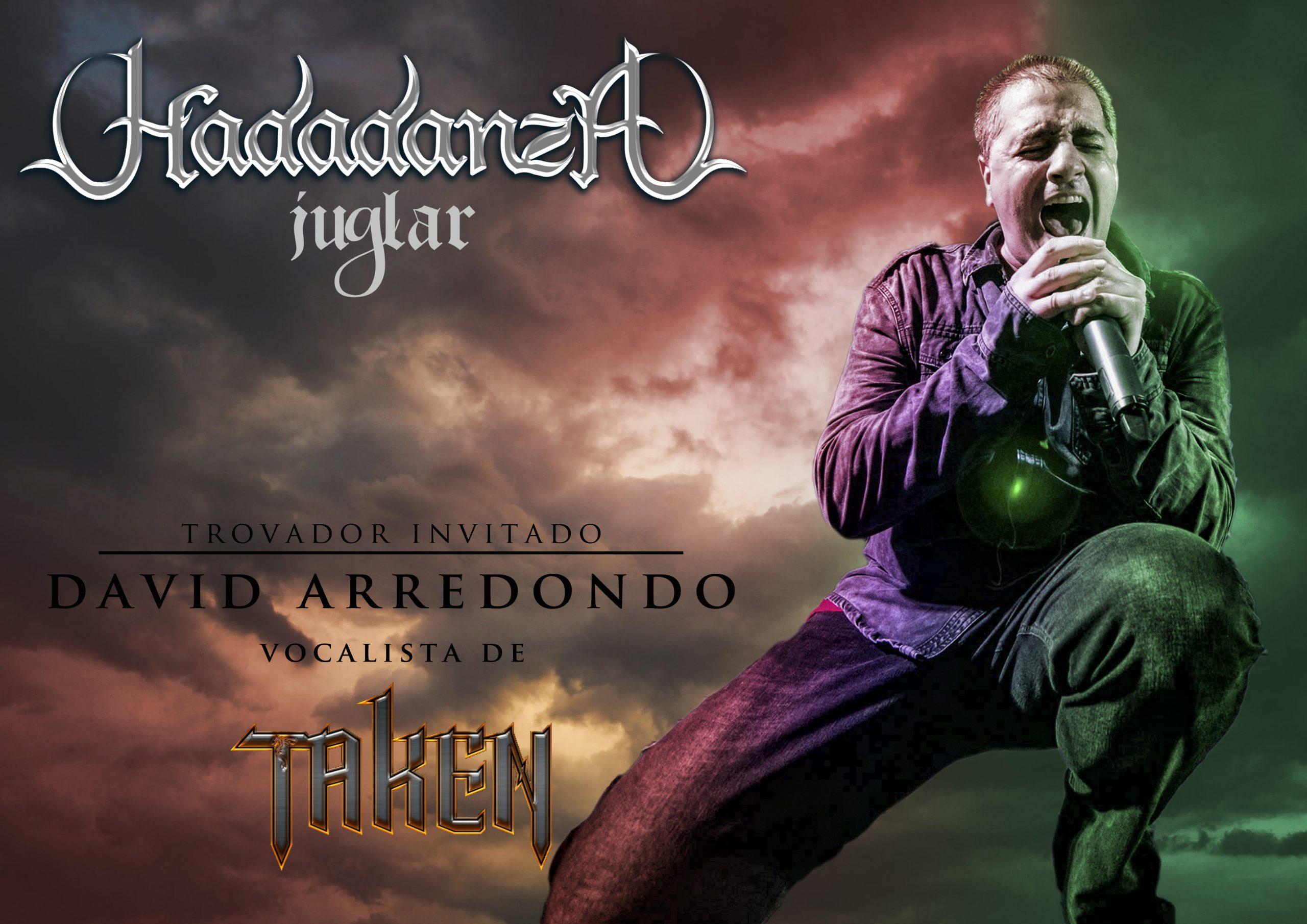 FOLK METAL ROCK - DAVID ARREDONDO EN JUGLAR